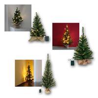 LED Weihnachtsbaum TOPPY| warmweiß | 3 Höhen | Batterie