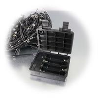 LED Batterie Lichterkette mit IP44 für vier AA Batterien