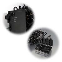 18, 24 oder 30m lange batteriebetriebene Außenlichterkette