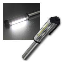 LED Stiftleuchte | Batteriebetrieb | Magnet Clip, 3W COB LED