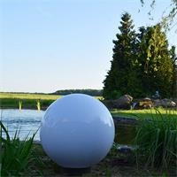 LED Gartenleuchte ist mit und ohne Leuchtmittel ein Blickfang