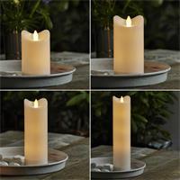 LED Kerzen Bianco in 5 Höhen mit warmweißem Licht