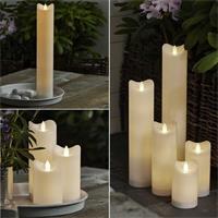 LED Kerze Bianco mit Flackereffekt