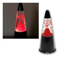 Dekoleuchte | Tischleuchte | Vulkan | rote LED-Beleuchtung