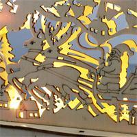 LED Leuchter mit stimmungsvoller Atmosphäre für ein festliches Flair