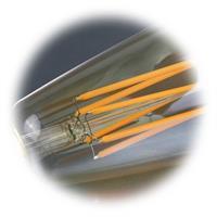 LED Lampe mit Anordnung der SMD LEDs wie bei einem Glühfaden
