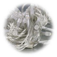 SMD LEDs im Abstand von 7cm auf transparentem Kabel