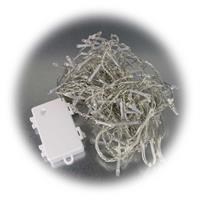 LED Eisregen mit transparentem Kabel für innen und außen