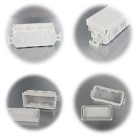 Feuchtraum-Abzweigkasten für Leitungsquerschnitte von 1,5-2,5mm²