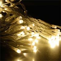 System Decor Lichtervorhang verzaubert mit warmweißem Licht