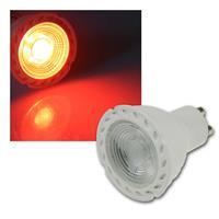 LED Strahler | GU10 | LDS-50 | rot | Deko-Strahler | 230V/5W