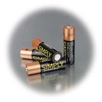AA Batterie mit superstarken 1400mA Kapazität im 4er Pack