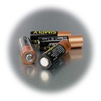 AA Micro-Batterie mit 1,5V Spannung technisch identisch mit Duracell Plus
