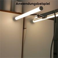 Warmweiße 6W LED Spiegelleuchte