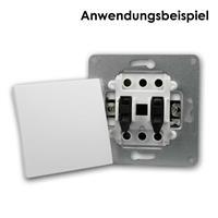 Abdeckung verwandelt Klingel-Taster der Schalterserie FLAIR in einen Taster
