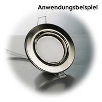 Kompakter Leuchteneinsatz passend für gängige 50mm Lampen