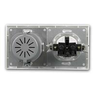 FLAIR Dimmer Schalter weiß, 250V~/300W, Unterputz