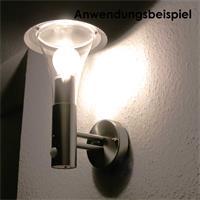 Elegante Wandleuchte für E27-Leuchtmittel