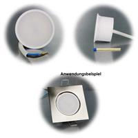 Kompakter LED-Einsatz mit 3 oder 5W Leistung