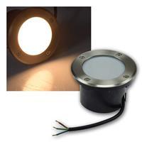 LED Bodenleuchte BEL R5 | 230V/5W, warmweiß | 320lm/IP67