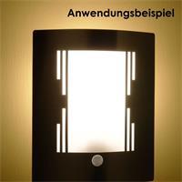 elegante Leuchte für besondere Beleuchtungsimpressionen an der Wand