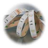 LED RGB+WW Streifen bis auf nahezu 360° biegbar mit 4 in 1 LEDs