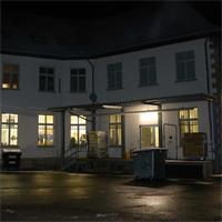 Gewerbe-Feuchtraumleuchte für alle Räume, in denen es feucht oder staubig sein kann