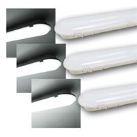 LED waterproof luminaire McSHINE | 3 lengths| daylight, 230V