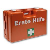 Erste-Hilfe-Koffer Sani Pro mit Wandhalterung | DIN 13157