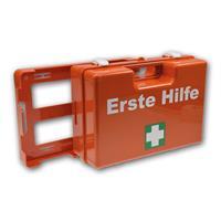 Erste-Hilfe-Koffer mit praktischer Wandhalterung