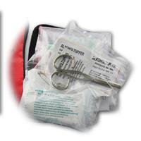 handliches Hilfeset für die Versorgung von kleinen Schnitt- oder Schürfwunden