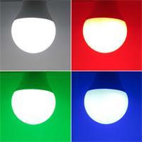 LED E27 Leuchtmittel bringt eine farbige Abwechslung in Ihren Wohnraum