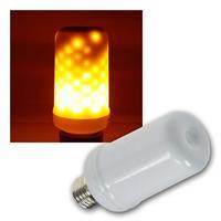 LED Dekolampe E27 Flamme | 3 Leuchtmodi | 230V/3W