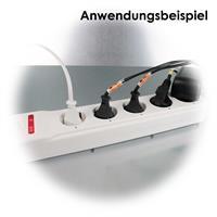 Steckdosenleiste mit 5 einzeln schaltbaren Steckplätzen