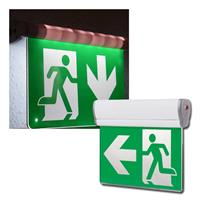 LED emergency exit light NL-8 Multi | detection range 25m