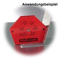 Winkel mit Magnet zum Fixieren von Werkstücken in 30°/45°/60°/75°/90° - Winkeln