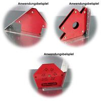 Magnetische Schweißwinkel für 30°, 45°, 60°, 75°, 90° und 135° Winkel