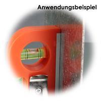 Wasserwaage mit starken Magnet für perfekte Ausrichtung