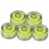Wasserwaagen Libelle   Dosenlibelle   18x9mm   grün   Acryl
