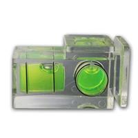 Blitzschuh-Wasserwaage   2 Achsen   Kamera-Wasserwaage