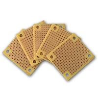 Mini soldering board, copper | breadboard, 45x39mm | 5 pack