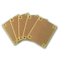 Mini soldering board, copper | breadboard, 60x49mm | 5 pack