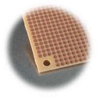 Mini-Trägerelement zum Basteln und Experimentieren mit elektronischen Bauteilen