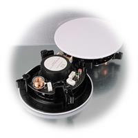 Lautsprecher mit Frequenzweiche und verstellbarem Hochtöner