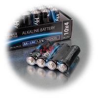AA Batterien, LR6 im Vorratspack für den Haushalt