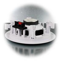 1 Paar Deckeneinbaulautsprecher mit Ø 130mm Membrane