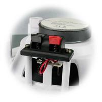 2er Set Deckeneinbau-Lautsprecher mit Papiermembrane