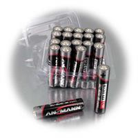 Alkaline Mignon AAA mit 0% Quecksilber und 0% Kadmium