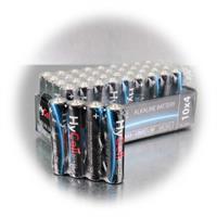 Vorratspack 10x4 Mignon Batterien AAA LR03