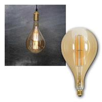 E27 LED bulb filament | Ø165mm, 10W, 650lm | dimmable
